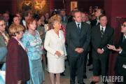 На открытии выставки русского искусства в Музее Орсе