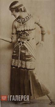 """Lyubov Chernysheva in the production of the ballet """"Cleopatra"""""""