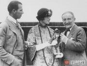 Джон Гаррет, Алис Гарретт и Леон Бакст.  Америка. 1923–1924