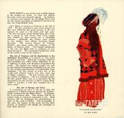 Реклама лекций Бакста в Америке. 1923