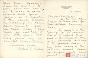 Письмо Артура Селига Леону Баксту. 21 июня 1923