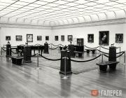 Museum gallery, 1955
