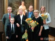 Sergei and Nikita Fadeyev, Yekaterina S. Khokhlova, Alex, Mary and Grace Ziloti