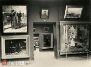 Экспозиция зала Н.Н. Ге в Третьяковской галерее. 1902