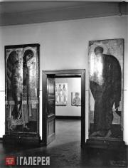 """Entrance to the """"Russian Icons"""" exhibition"""