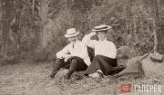 Л.С.Бакст и Л.П. Гриценко-Бакст. 1903