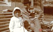 Л.С. Бакст с сыном Андреем. 1910-е