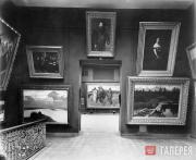 Залы Третьяковской галереи. 1898