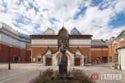 Фасад Государственной Третьяковской галереи