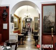 Nikolai Gogol's favourite table in the Caffè Greco