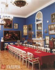 Зал заседаний Ученого Совета Академии