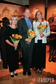Pavel Tretyakov's descendants Mary, Alexander and Grace Ziloti (USA)