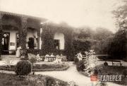 Ivan Aivazovsky's estate at Shakh Mamai. 1890s