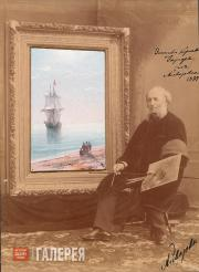 IVAN AIVAZOVSKY. Dead Calm. 1887