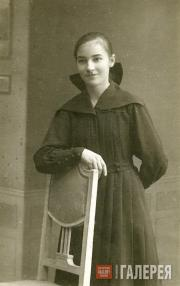 Sofia Kreitor, Ivan Kreitor's sister. Early 1920s