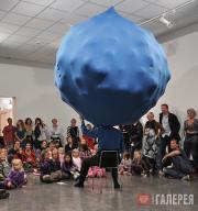 "Перформанс Курта Йоханнессена ""Blu 10"". 2010"