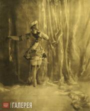 Nijinsky in the Role of the Favorite Slave in ʻPavillon d'Armide'. 1909