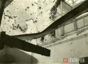 Halls 6 and 49. The aftermath of the night bombing raid  on August 12 1941