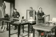 Подготовка к открытию Третьяковской галереи