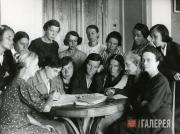 Employees of the Novosibirsk branch of the Tretyakov Gallery
