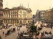 Piccadilly Circus, London. Circa 1895