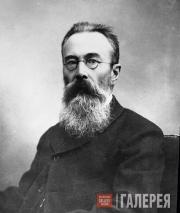 Nikolai Rimsky-Korsakov. Photo. 1890s