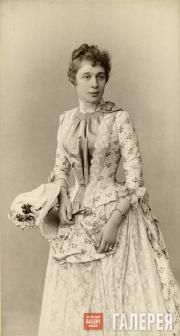 Вера Павловна Зилоти, урожденная  Третьякова. 1887. Фотография