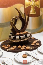 The prize-winning cake