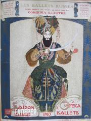 Обложка отдельного выпуска журнала «Comoedia Illustré». 1910