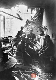 Великая Отечественная война, 1943 год. Минута отдыха