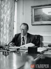 Yury Korolev, director of the Tretyakov Gallery 1980–1992. 1984