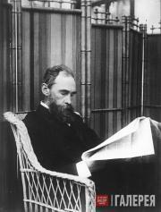 П.М.Третьяков на даче. 1897