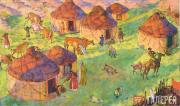 Lanceray Eugene E. On Nogai Steppe. 1928