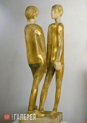 Pologova Adelaida. The Boys (Alyosha and Mitya). 1970