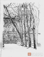 Yakunchikova Maria. Unpublished sketch