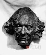 Golubkina Anna. Vyacheslav Ivanov (a mask). 1914