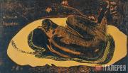 Поль Гоген. Manao Tupapau (Она думает о привидении). 1893–1894
