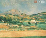 Paul CEZANNE. Plain at Mont Sainte Victoire. 1882-1885