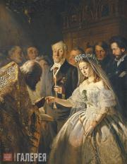 Vasily PUKIREV. The Unequal Marriage. 1862