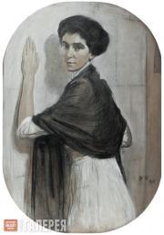 Serov Valentin. Portrait of Sofia Olsufieva. 1911