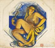 Serebryakova Zinaida. Odalisque (India). c.1915