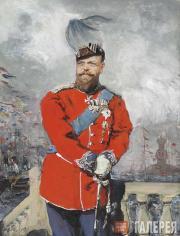 The Emperor Alexander III in the Uniform of the Danish Royal Regiment of Life Gu