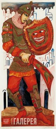 Goncharova Natalia. Prince Guidon. 1920s