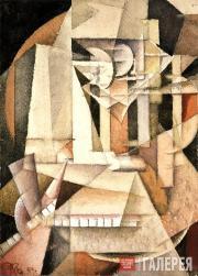 Kliun Ivan. Self-portait. 1914