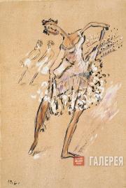 Larionov Mikhail. Ballerina. Late 1920s-early 1930s