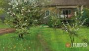 Levitan Isaaс. Garden in Bloom. 1890-1893