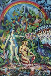 David BURLYUK. Rainbow. 1916