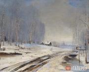 Savrasov Alexei. Bad Roads. 1894