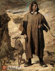 Regnault Henri. Castilian Mountain-Shepherd. 1868