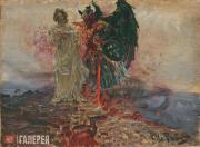 Repin Ilya. Get Thee Behind Me, Satan! 1895